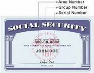 U.S. Social Security Card