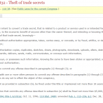 18 U.S. Code § 1832 - Theft of trade secrets